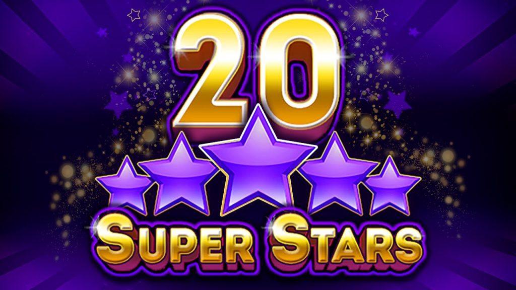 """20 SUPER STARS - สล็อต """"ผลไม้"""" ออนไลน์"""